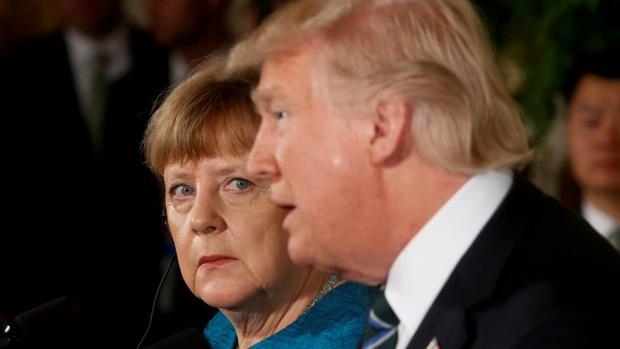 Trump amenaza con llevarse las bases militares de Alemania
