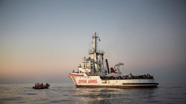 El Open Arms rescata a 39 personas más esta madrugada