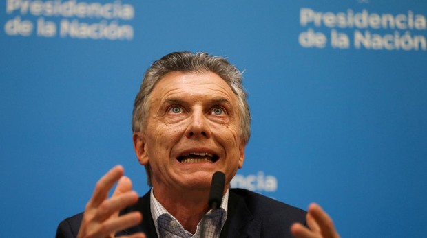 El presidente argentino, Mauricio Macri, tras la derrota en las eleccinoes de PASO