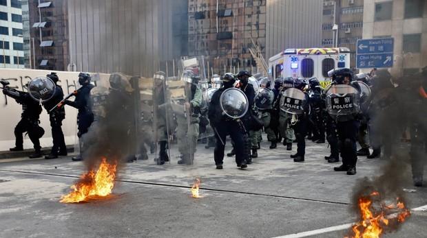 «Las protestas pacíficas no sirven, hay que seguir luchando»