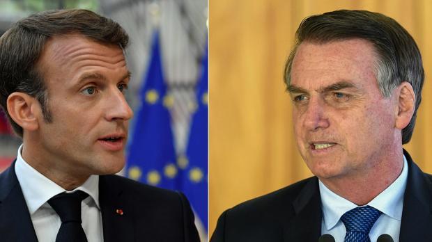 Las claves de la crisis entre Francia y Brasil por la Amazonia