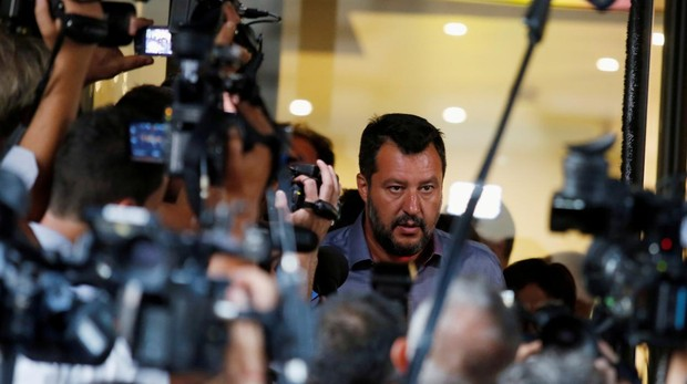 Matteo Salvini, líder del partido ultraderechista Lega