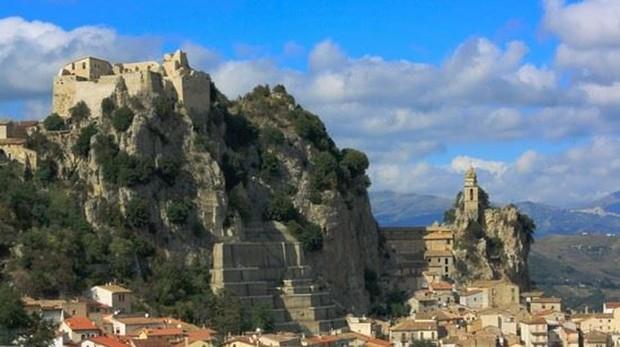 Bagnoli del Trigno, enl la región montañosa de Molise