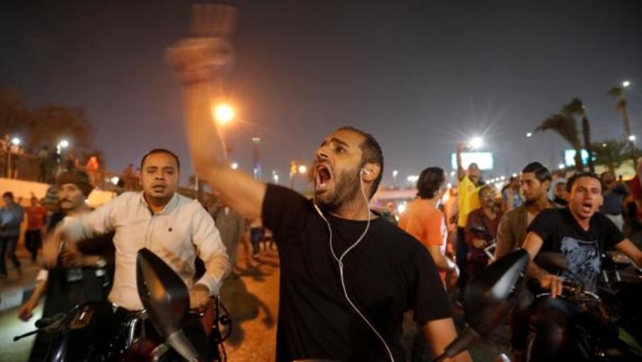 Insólitas protestas contra Al Sisi en varias ciudades de Egipto