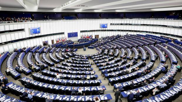El Parlamento Europeo, ubicado en Estrasburgo (Francia), en una imagen de archivo
