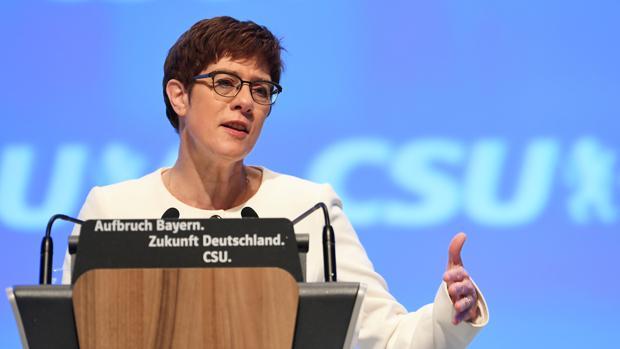 Alemania propone crear una zona de seguridad en el norte de Siria