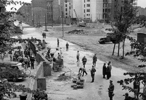 Construcción del Muro en 1961