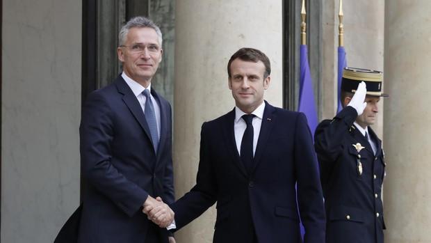 Macron quiere restaurar una OTAN en crisis con participación aliada en el Sahel