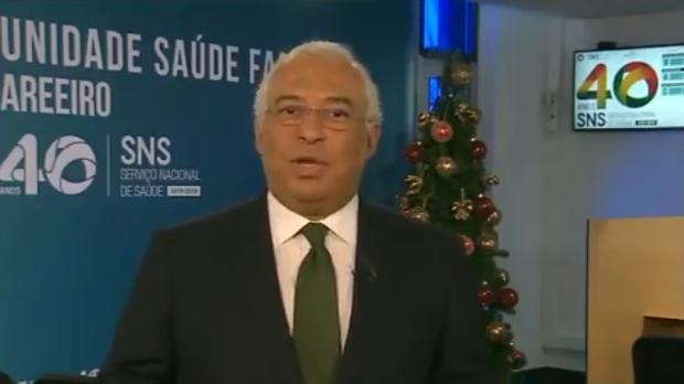 Polémica en Portugal por el mensaje navideño del primer ministro