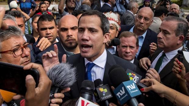 Guaidó convoca movilizaciones de calle tras el golpe al Parlamento