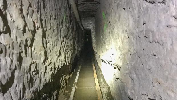 Descubren el túnel de contrabando más largo en la historia entre EE.UU. y México