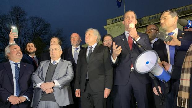 Guaidó cierra su gira con el respaldo de la OEA