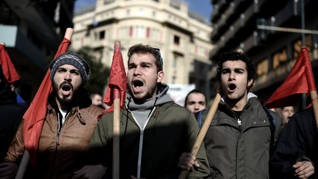 La reforma de las pensiones provoca la primera huelga general del gobierno de Kiriakos Mitsotakis