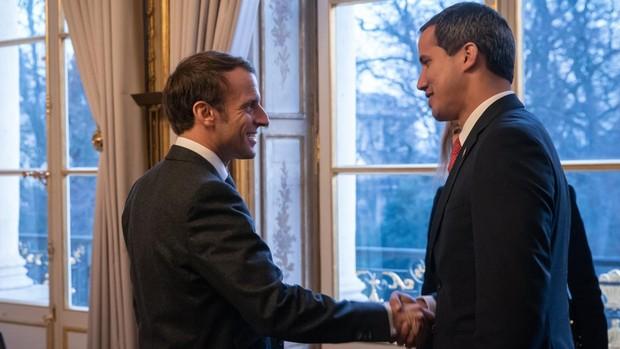 Moncloa y Exteriores intentaron que Macron y Merkel no recibieran a Guaidó