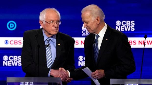 «Biden vs Sanders», el cara a cara de las dos almas del partido demócrata
