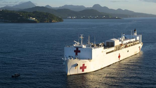 Trump envía buques hospitales a Nueva York y la costa oeste: «Me siento un presidente en guerra»