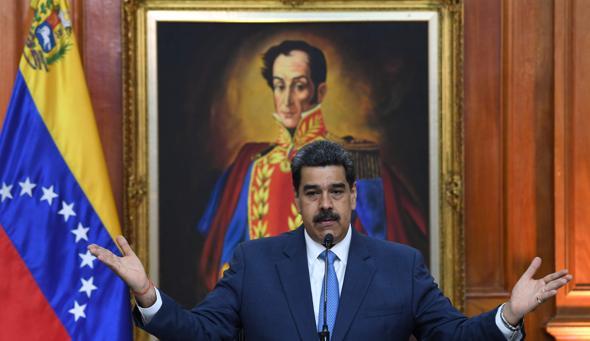 El régimen de Maduro rechaza las acusaciones de narcoterrorismo de EE.UU.