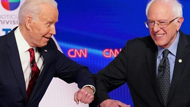 Sanders apoya formalmente a Biden tras retirarse de la carrera de las primarias demócratas