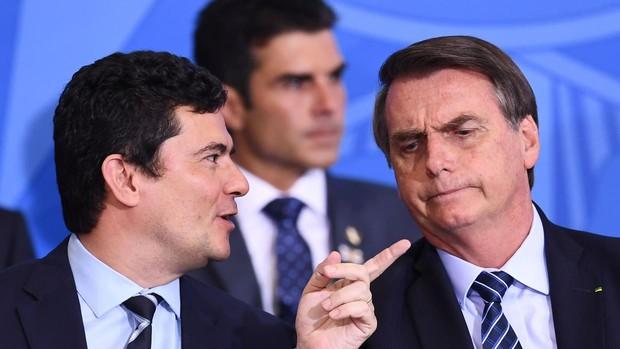 Jair Bolsonaro y Sergio Moro protagonizan un nuevo cruce de acusaciones en las redes sociales