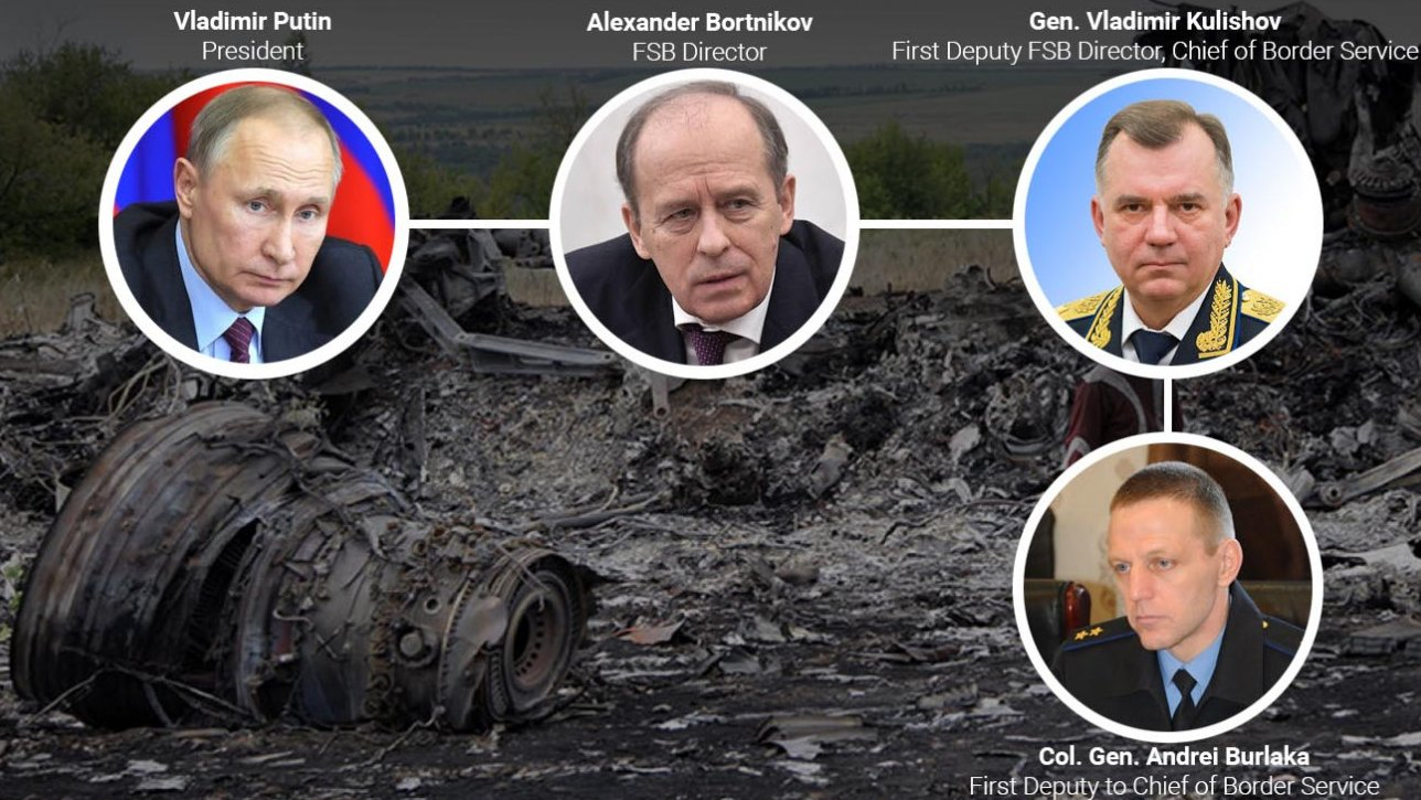 Un general ruso del FSB, vinculado al derribo del vuelo MH17 sobre territorio ucraniano
