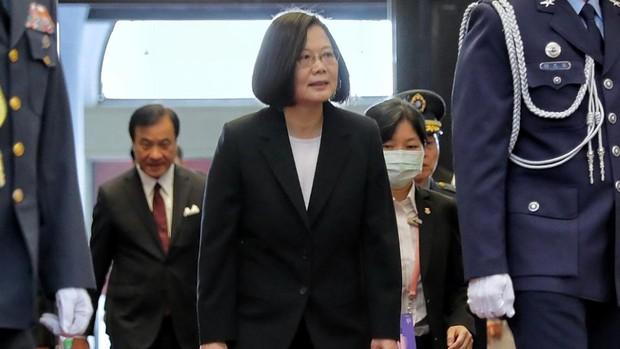 La presidenta de Taiwán abre su segundo mandato rechazando de nuevo la unión con China