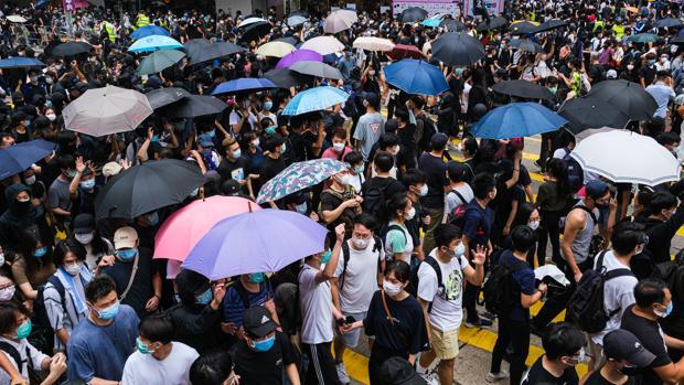 La Ley de Seguridad que quiere imponer China reactiva la revuelta de Hong Kong
