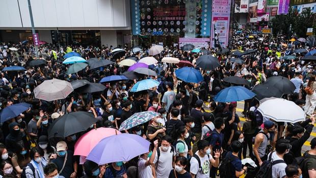 Una protesta en Hong Kong contra la Ley de Seguridad china deja más de 180 detenidos