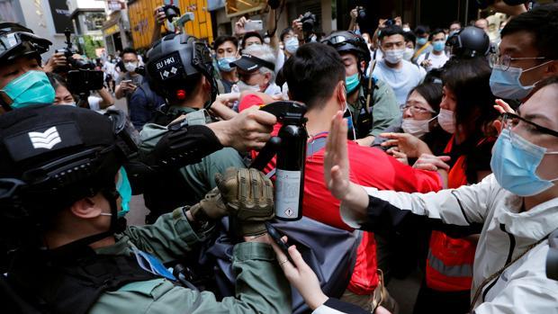 China enseña los dientes a EE.UU. por la ley de seguridad de Hong Kong