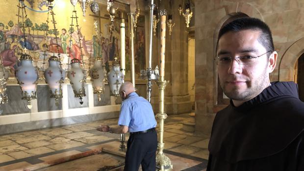 El guardián del Santo Sepulcro