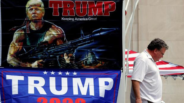 Trump regresa a la contienda electoral tras un hondo desplome en las encuestas