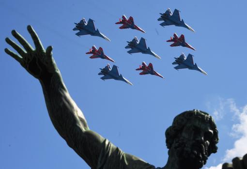 Putin desafía al coronavirus celebrando el gran desfile de la Victoria sobre el nazismo en Moscú