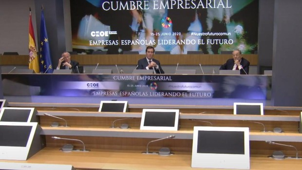 Solana y Piqué reivindican el papel de la UE frente a la pugna entre EE.UU. y China