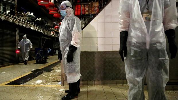 Hong Kong ya sufre la tercera ola del coronavirus