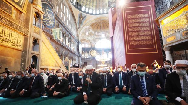 Erdogan «reconquista» Santa Sofía y se burla de Occidente