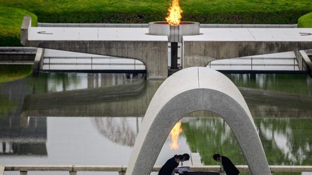 Hiroshima sigue pidiendo el fin de las armas nucleares 75 años después