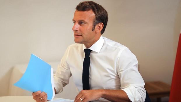 Macron reforzará la presencia militar francesa en el Mediterráneo oriental