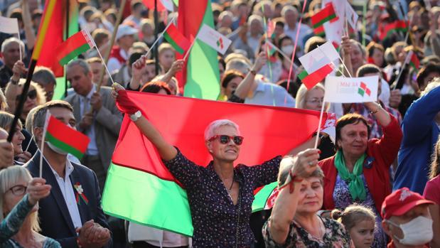 La oposición bielorrusa quiere ser como Guaidó