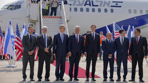 El «vuelo de paz» conecta por primera vez Israel con Emiratos Árabes Unidos