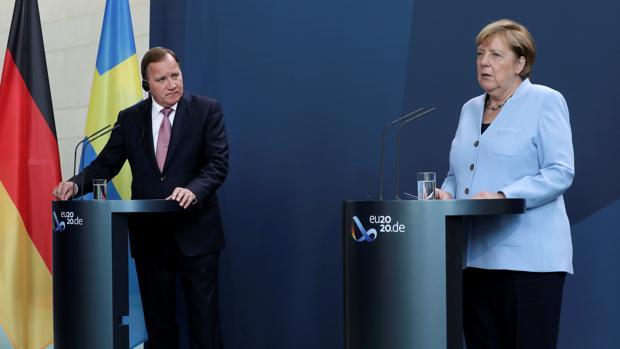 Los intereses económicos enfrían la condena de Merkel a Rusia por el caso Navalni