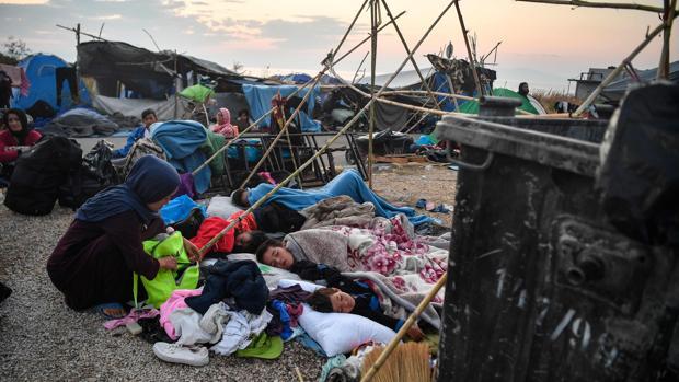 Los refugiados de Lesbos, la herida abierta de Europa