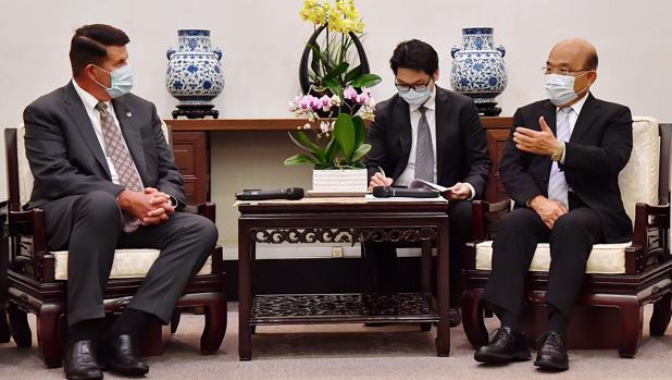 China enseña los dientes por la segunda visita de EE.UU. a Taiwán