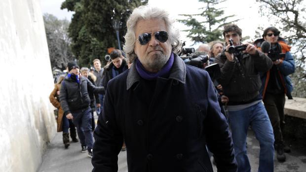 Beppe Grillo ataca al Parlamento: «No creo en absoluto en la representación parlamentaria»