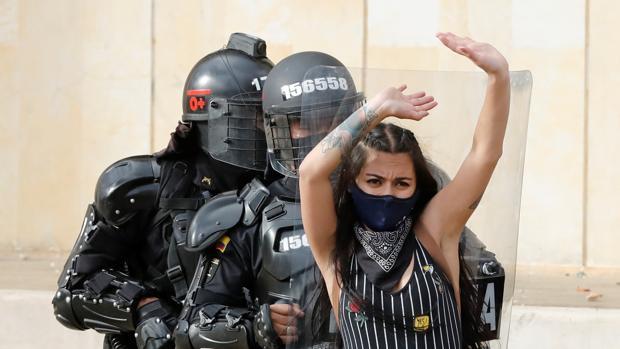 Las protestas en Colombia abandonan la cuarentena