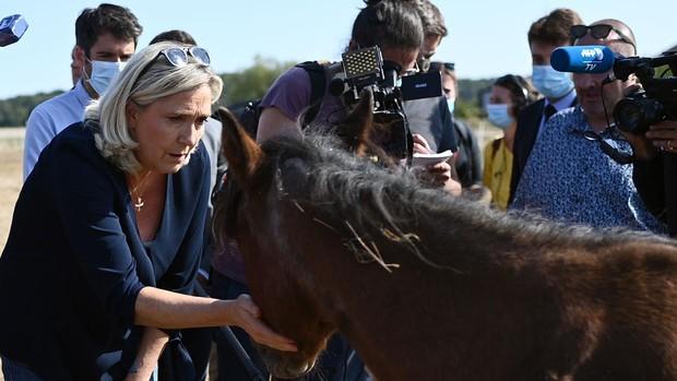 La familia Le Pen se desgarra entre deudas y líos políticos y amorosos