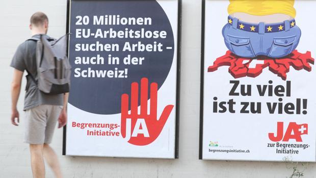 Los suizos votan hoy si desean conservar la libre circulación con la UE