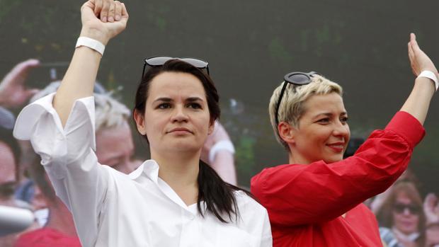 La oposición bielorrusa, premio Sájarov 2020