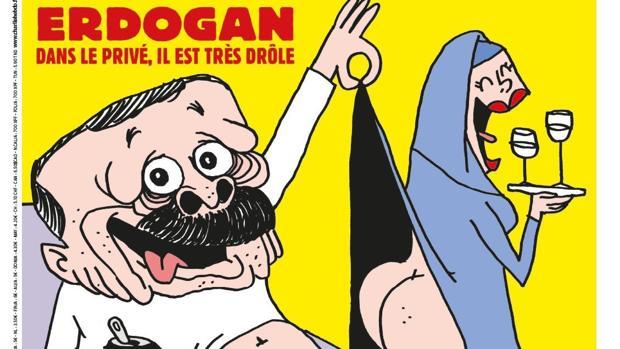 La portada del nuevo número de la revista Charlie Hebdo