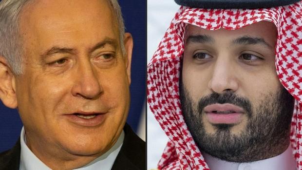 Netanyahu se reunió en secreto con el Príncipe heredero saudí y Pompeo