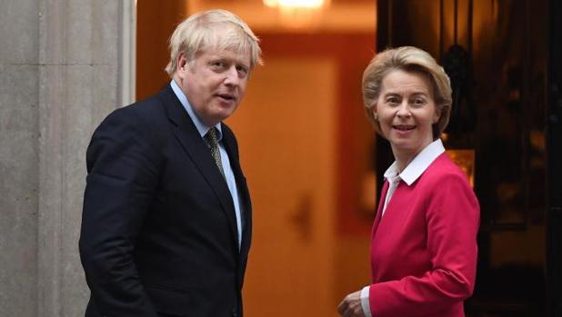 Von der Leyen y Boris Johnson negociarán el acuerdo pos-Brexit hasta el último minuto