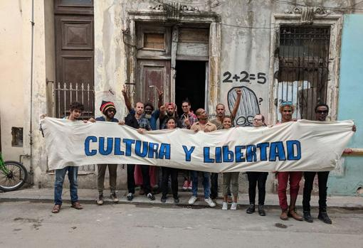 The raid on the headquarters of the San Isidro Movement, on November 26, was what caused the concentration of artists the following day in front of the Ministry of Culture